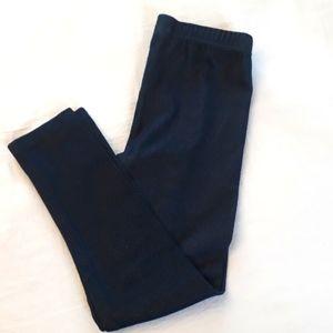 ROCOCO Girls Size 6 Navy Leggings Demin Look
